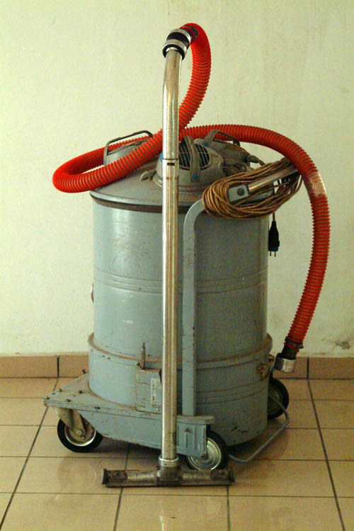 Old vacuum cleaner