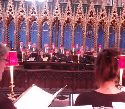 Lewes Singers at Westminster Abbey