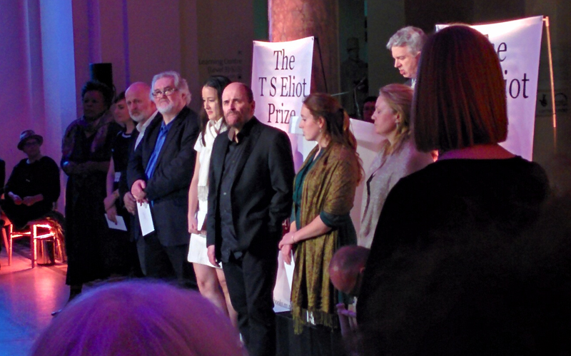 TS Eliot Prize shortlisted poets 2016