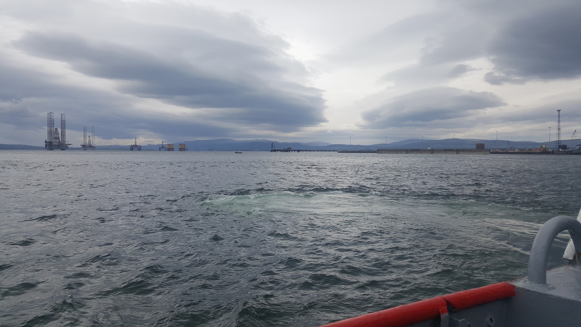 Ning ferry across the Cromarty Firth