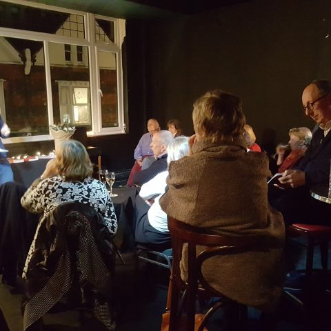 Launch of poetry pamphlets at Printers Playhouse Eastbourne