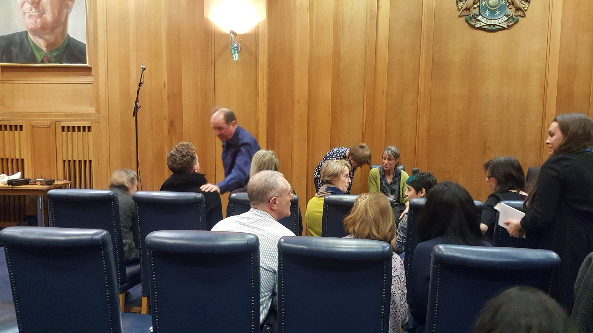 BBC Council Chamber Book Club recording