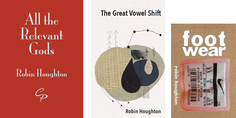 Three poetry pamphlets by Robin Houghton