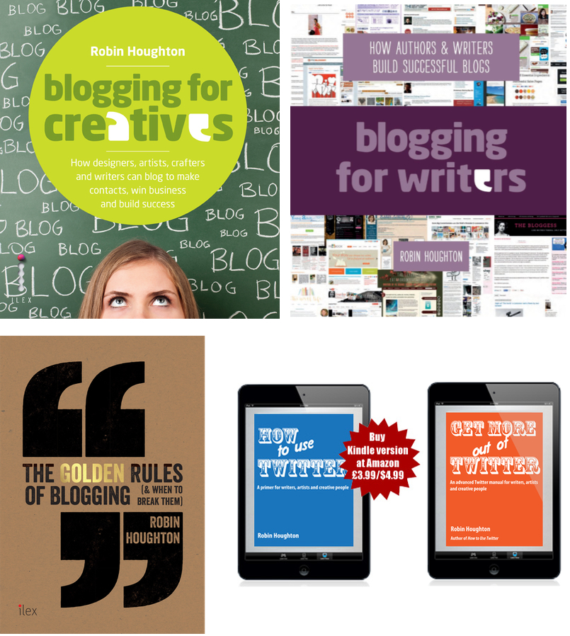 How-to books on blogging and social media by Robin Houghton