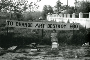 to change art destroy ego