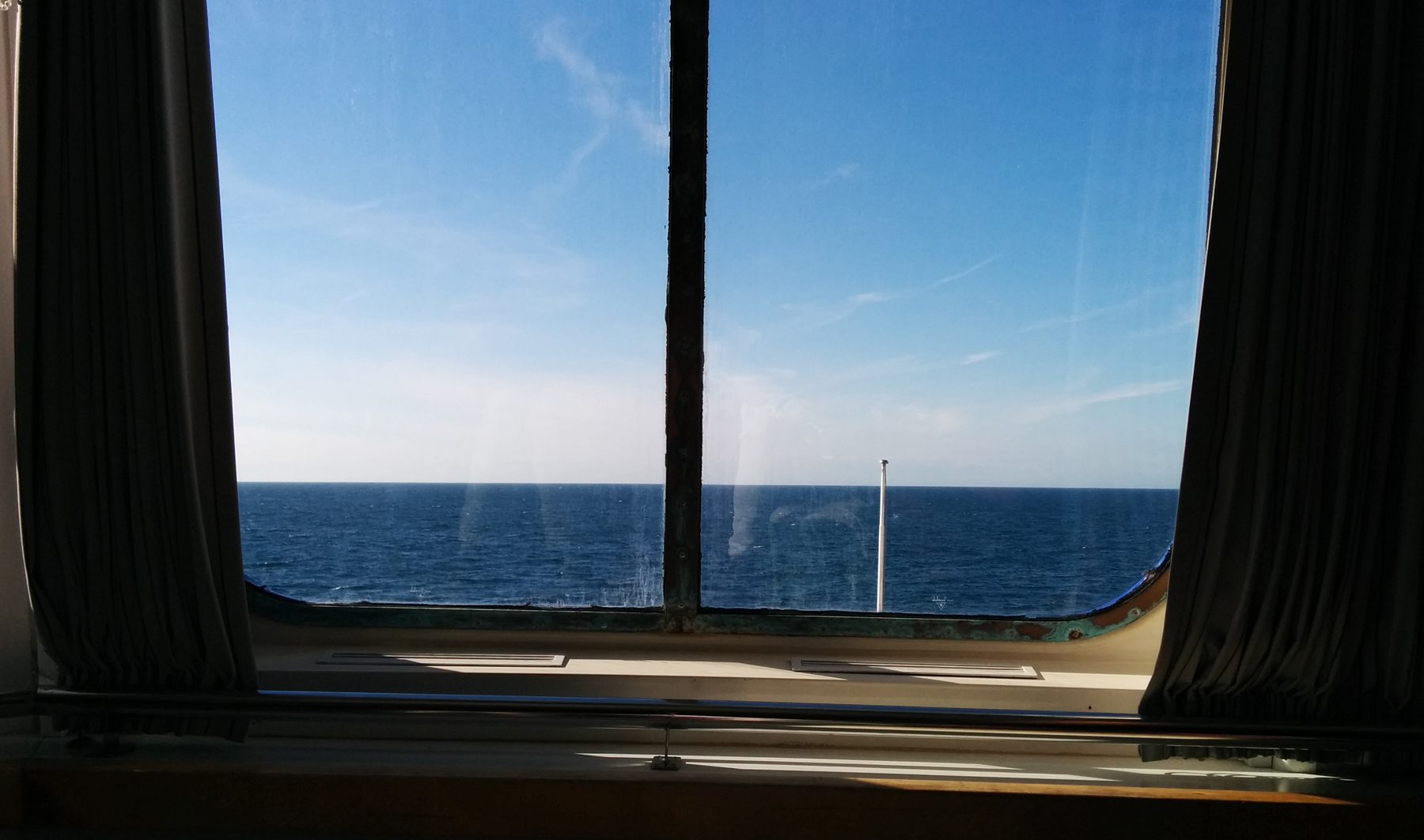 view from the ship