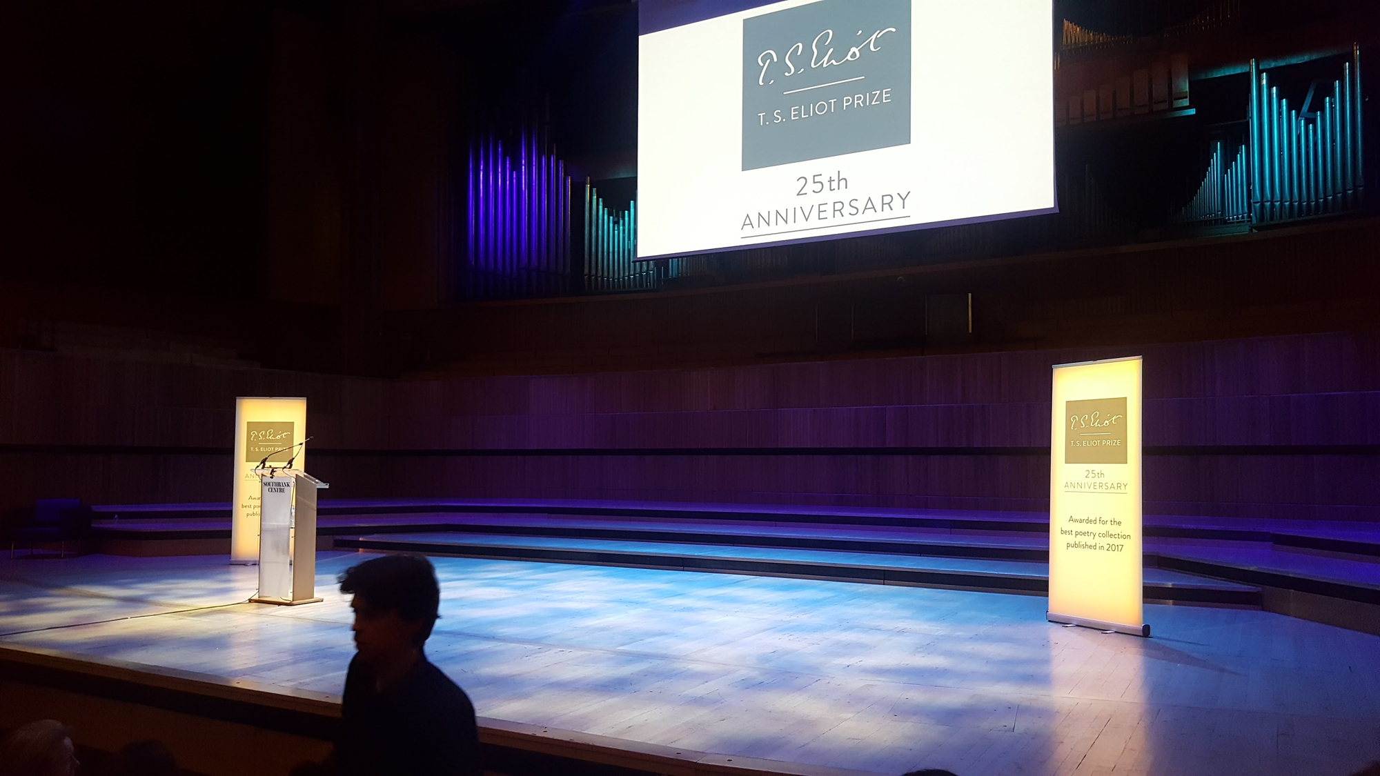 TS Eliot Prize readings 2018 - Royal Festival Hall