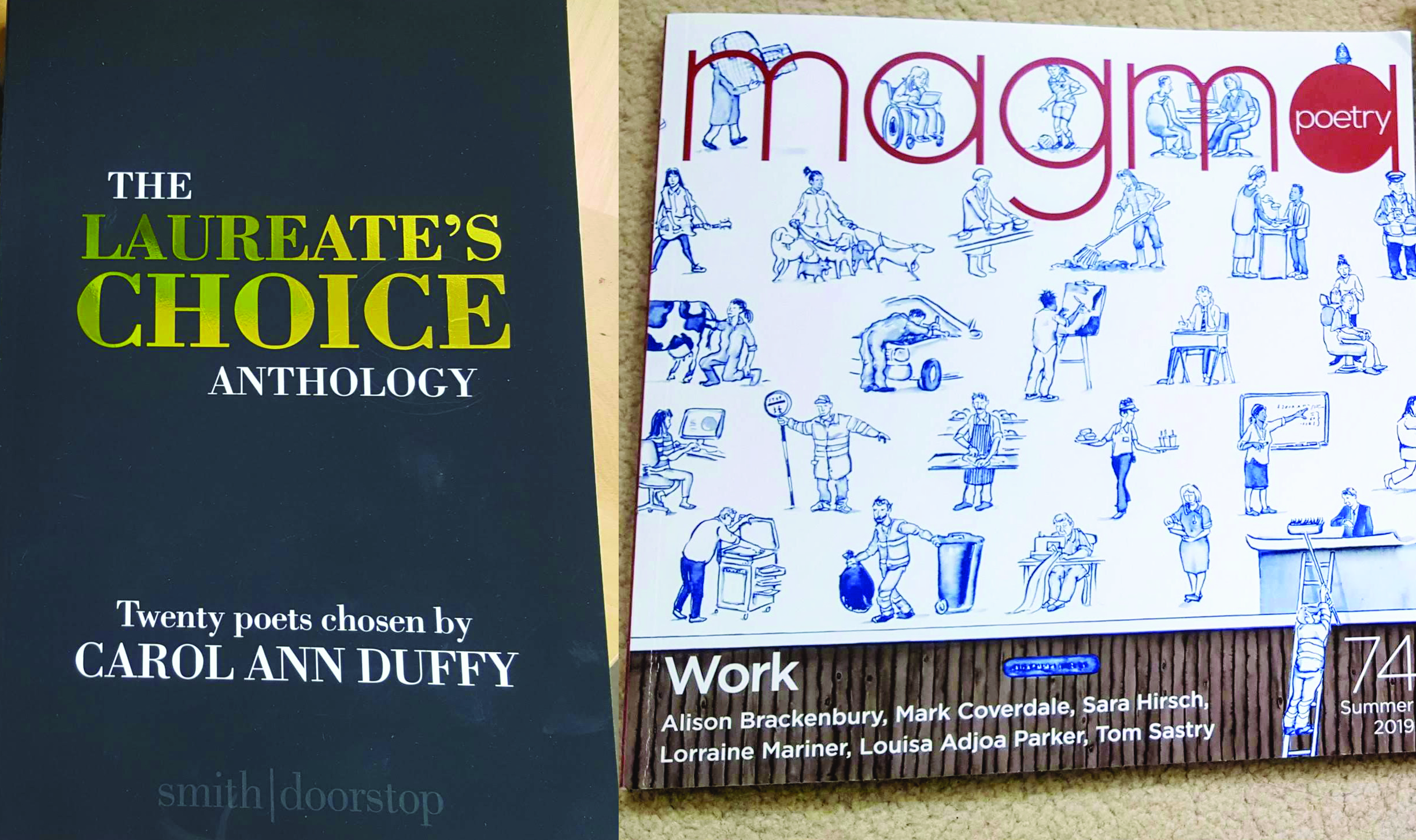 Laureate's Choice Anthology and Magma 74