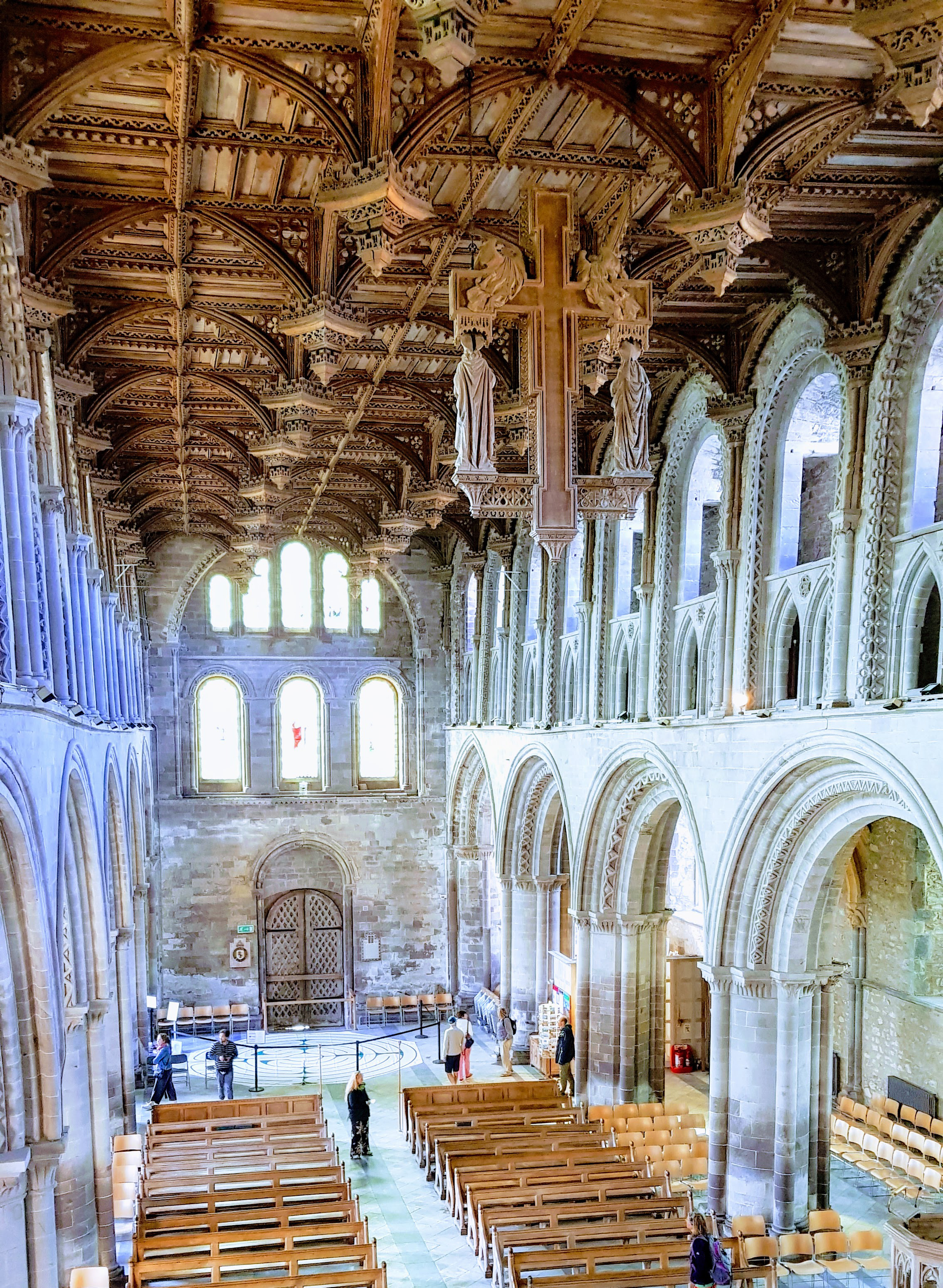 St David's Cathedral interior (Nave)