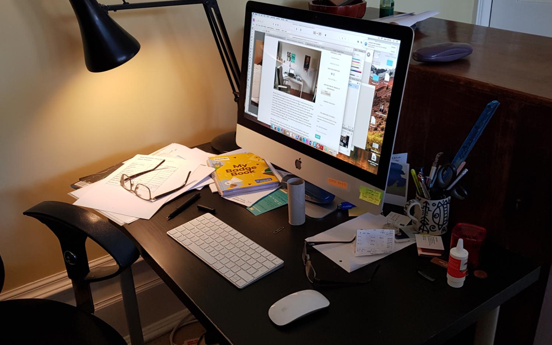 Robin's desk