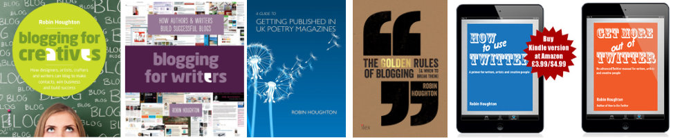 New montage of how-to books by Robin Houghton