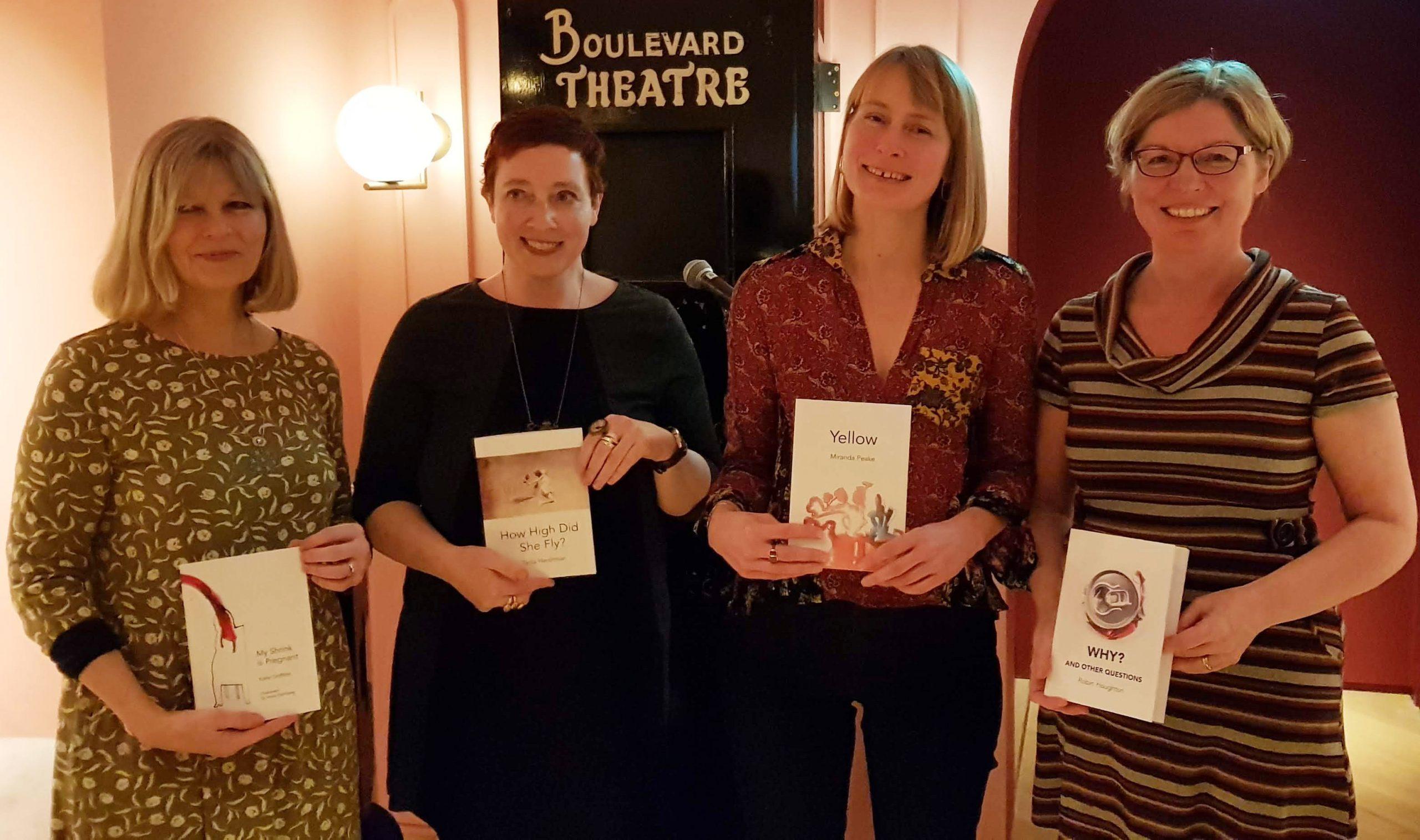 Katie Griffiths, Tania Hershman, Miranda Peake, Robin Houghton