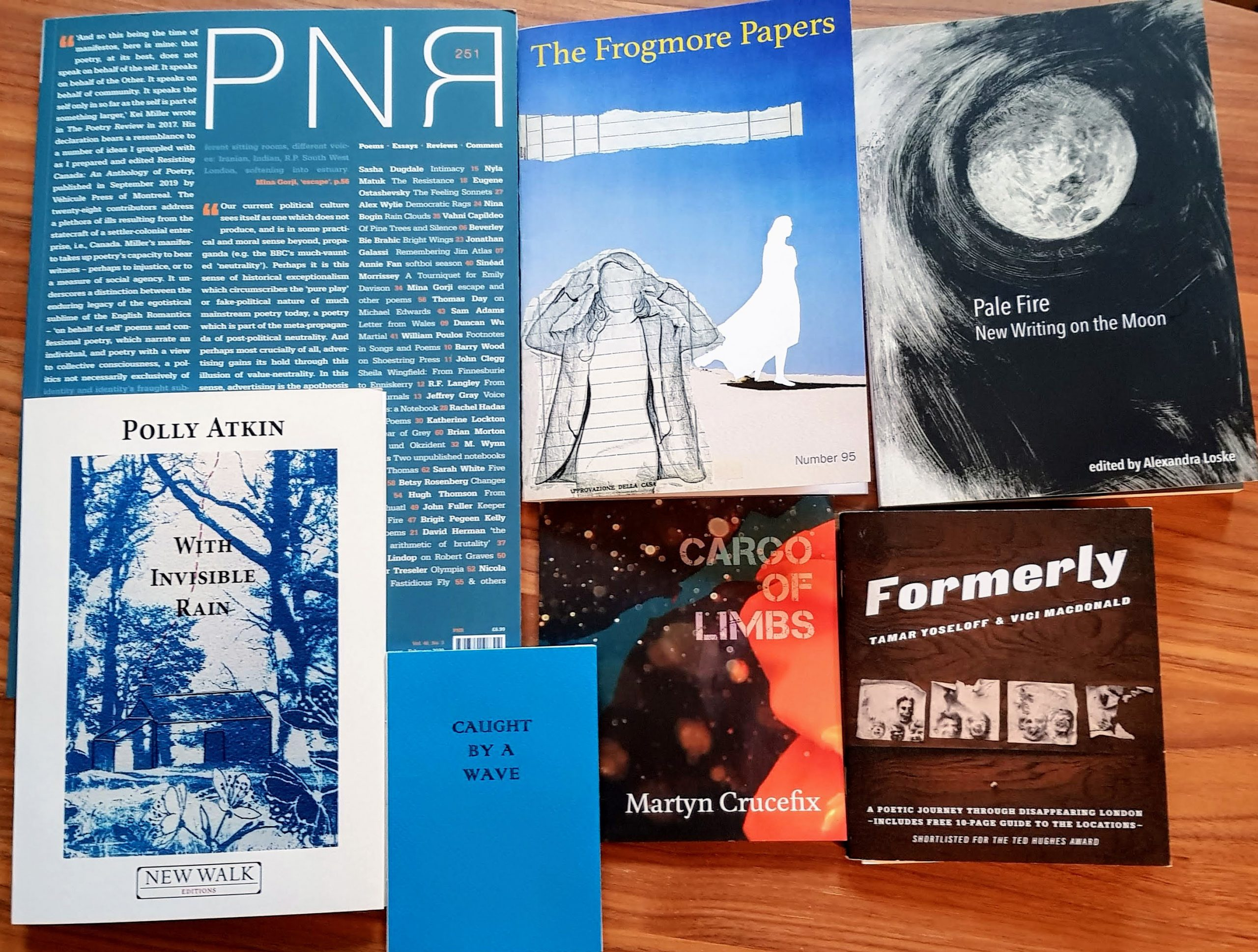 Books from Free Verse the poetry book fair