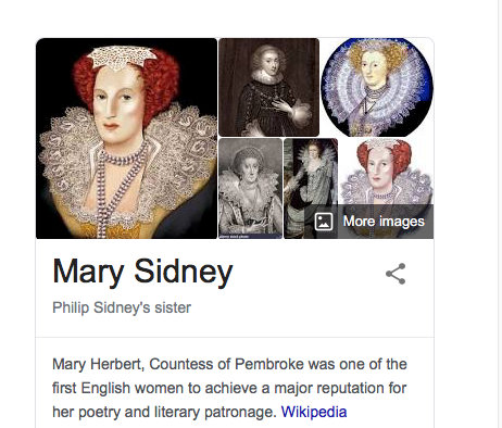 Mary Herbert google search