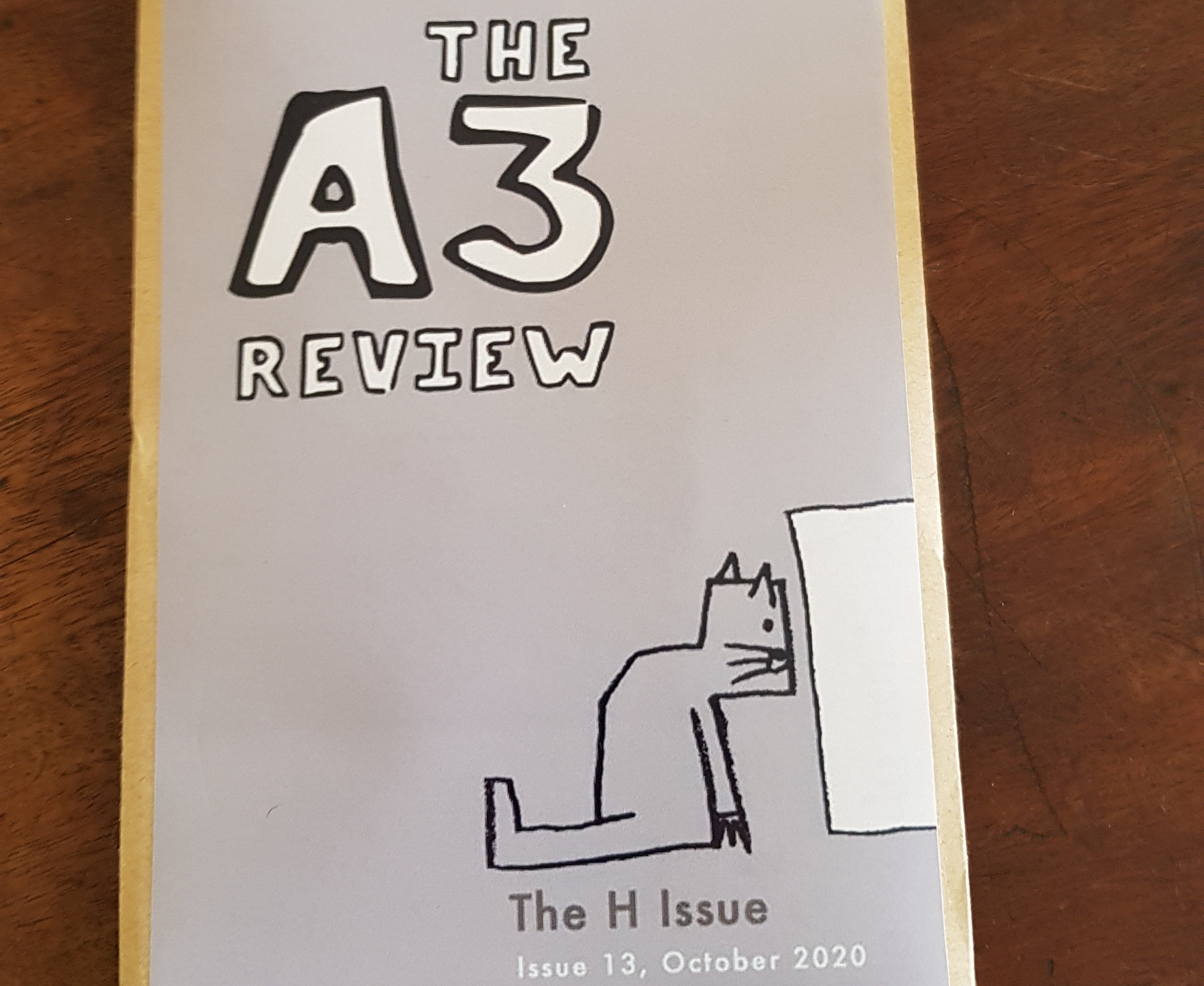 The A3 Review cover