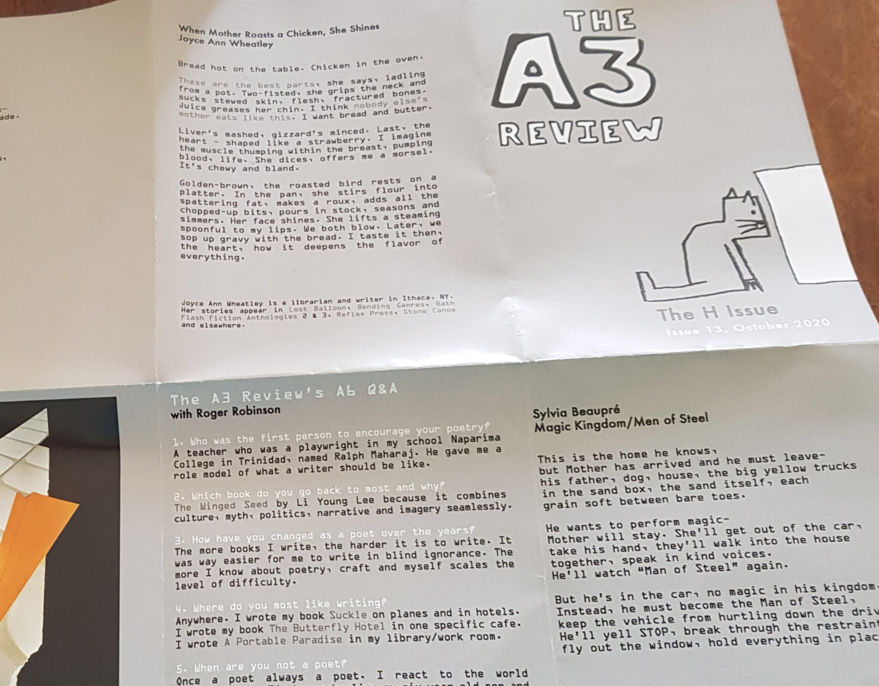 A3 Review issue 13