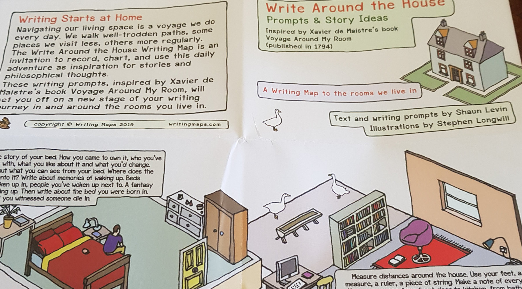 Write About the House by Writing Maps