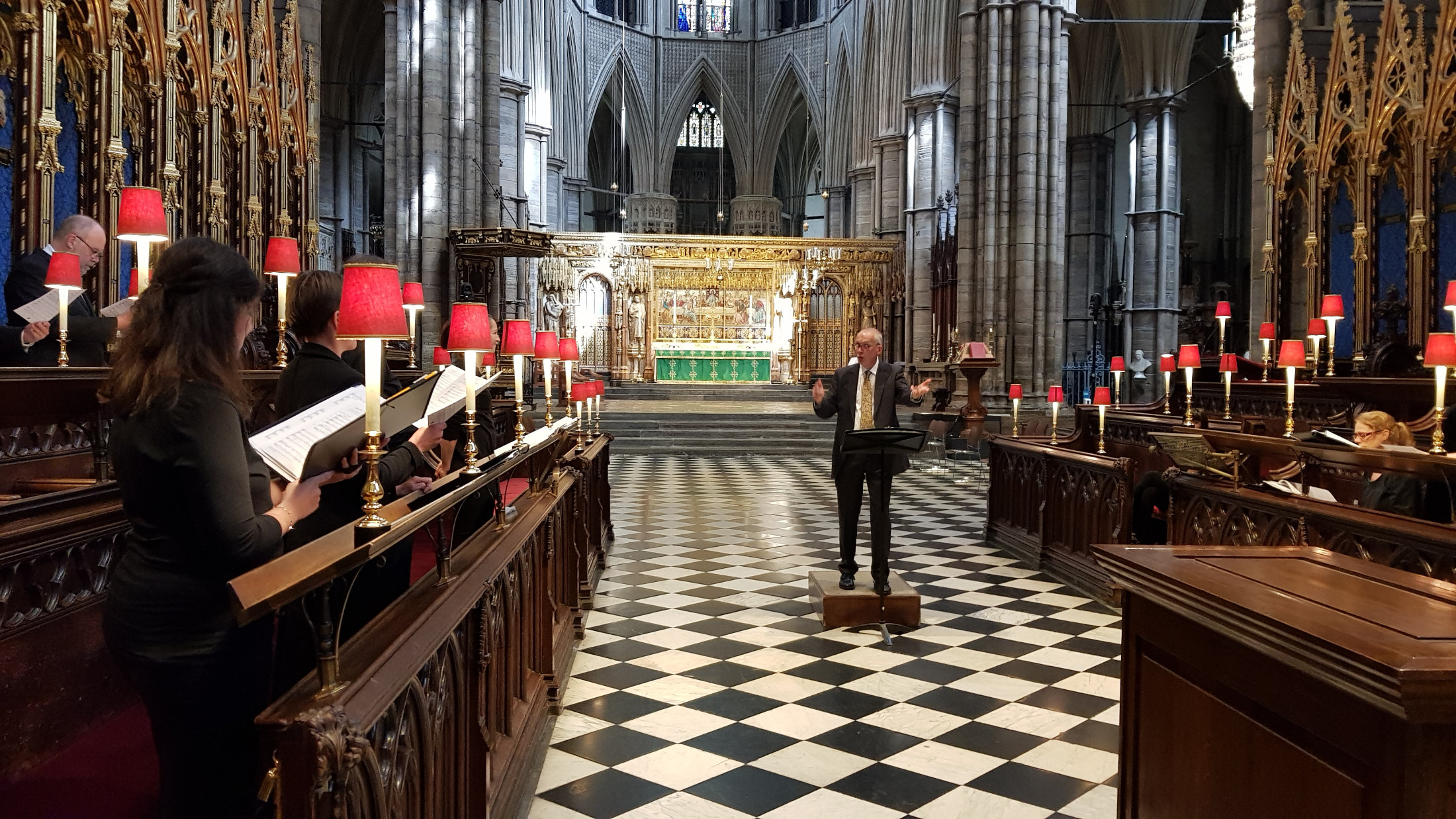 Lewes Singers in Westminster Abbey