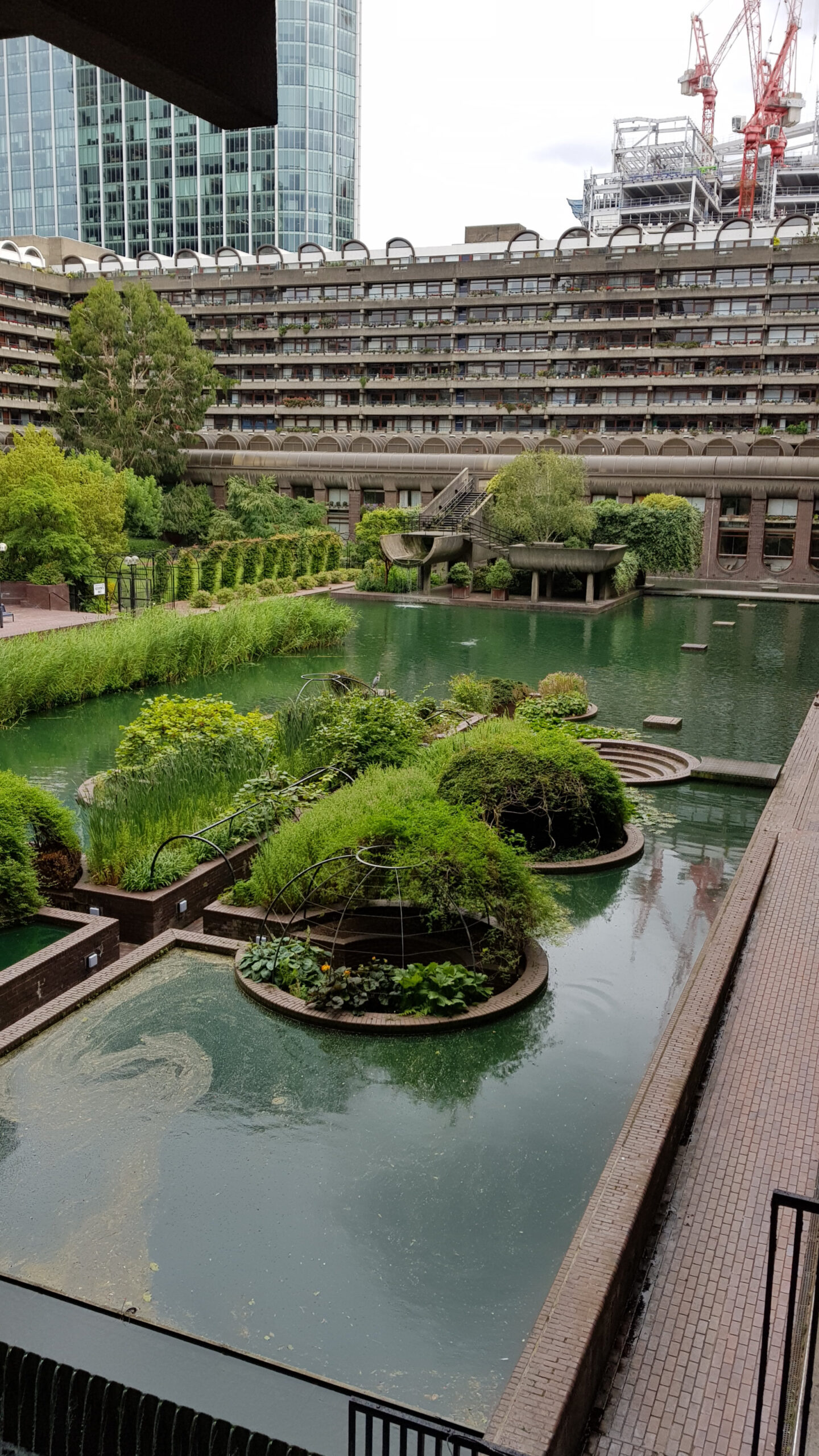 The Barbican, Brutalism at its best