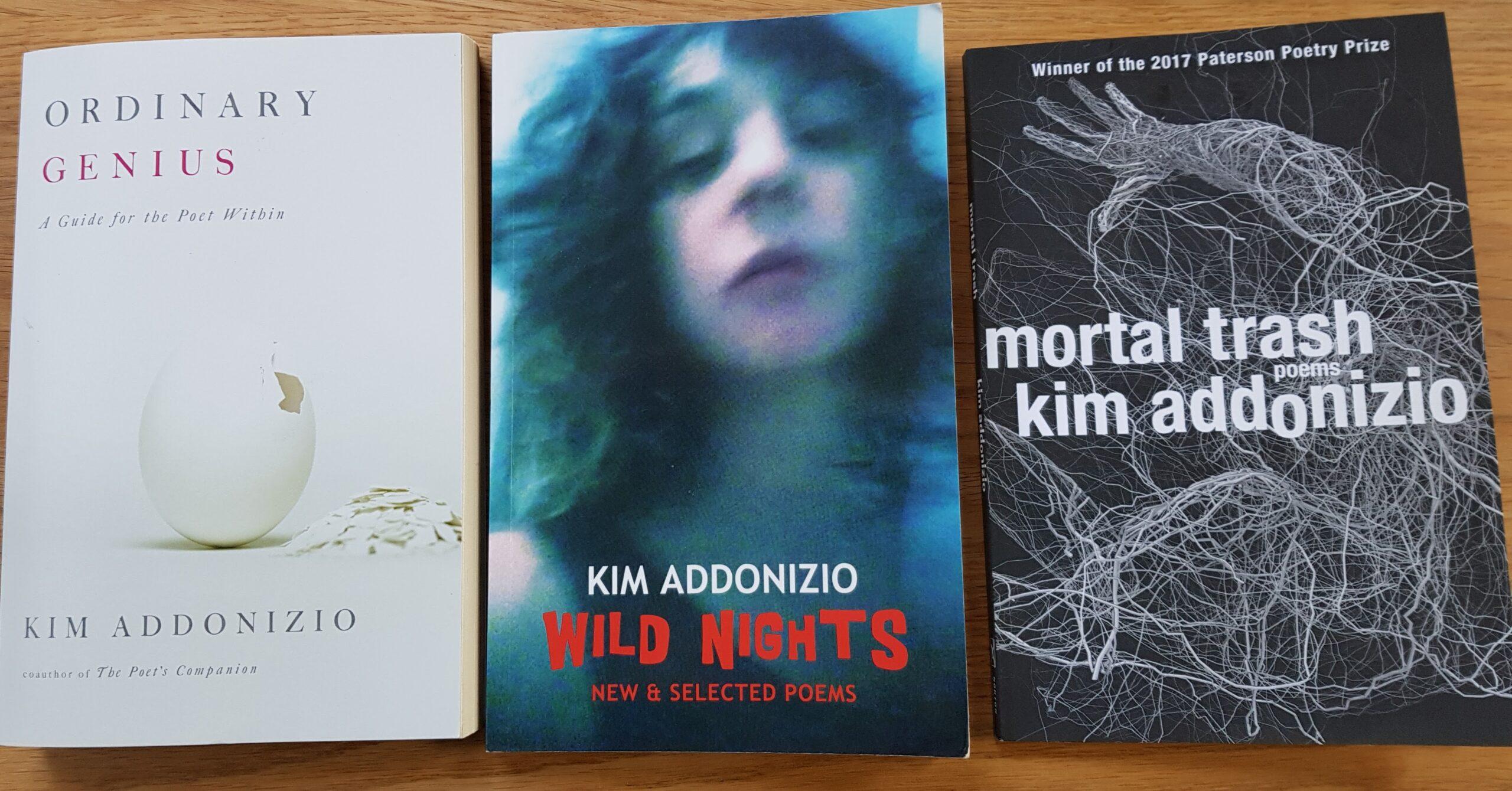 titles by Kim Addonizio